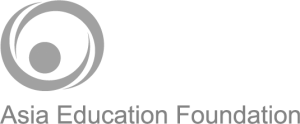 Asia Education Foundation Logo bw