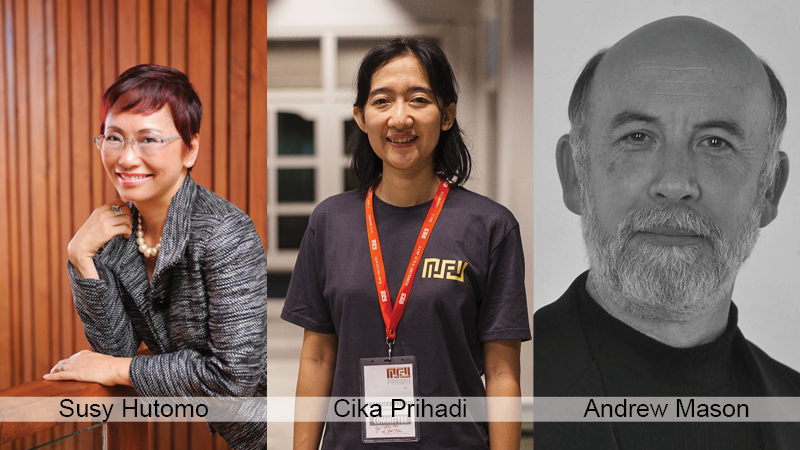 Suzy Hutomo joins ReelOzInd! jury, Cika Prihadi and Andrew Mason return